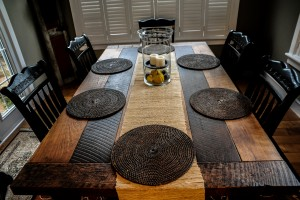 custom reclaimed dining table